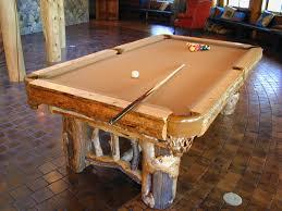 Custom Made Rustic Pool Table