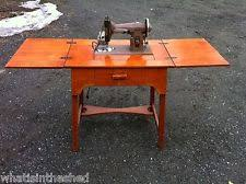 kenmore electric vintage sewing machine wood cabinet 1954 in great
