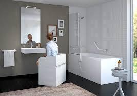 badezimmer für senioren haltegriffe sitzmöbel armaturen