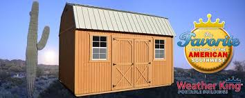 Portable Sheds Jacksonville Florida by Weather King Buildings U2013 Portable Storage Buildings Sheds