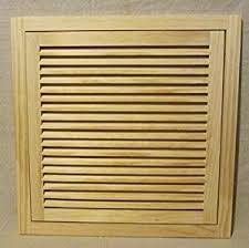 Decorative Return Air Grille 20 X 20 by 20x20 Wood Return Air Filter Grille Amazon Com