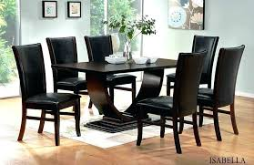 Wooden Dining Set Designs For Table And Chairs Black Wood Modern