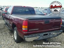 Used Parts 2002 Chevy Silverado 1500 | Subway Truck Parts, Inc ...