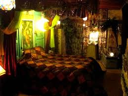 Egyptian Bed Room of Federico Santi 152 Spring Street Newport