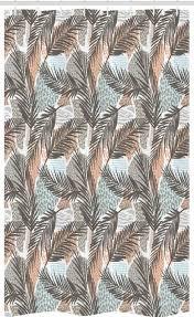 abakuhaus duschvorhang badezimmer deko set aus stoff mit haken breite 120 cm höhe 180 cm tropisch abstrakt pastell botanik kaufen otto