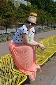 vancouver vogue look of the week the sheer maxi skirt