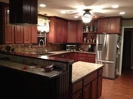 kitchen lighting flush mount elliptical chrome country