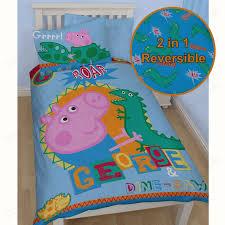 OFFICIAL PEPPA PIG GEORGE BEDDING DUVET COVER SETS