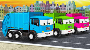 100 Garbage Trucks For Kids Pictures To Color With Learn Colors Garage