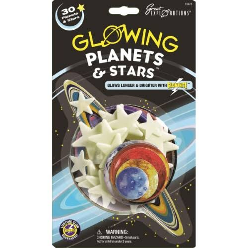 University Games Great Explorations Glow in the Dark Planets & Stars