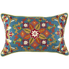 Pier e Global Embroidered Pillow Pier 1 Imports Polyvore