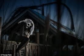 Halloween Theme Park Uk by Thorpe Park U0027s Fright Nights Has Guests Kidnapped Blindfolded And