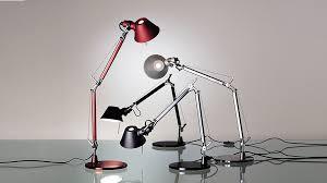 Tolomeo Desk Lamp Black by Artemide Tolomeo Micro Table