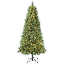 C12 7ft Pre Lit Bradford Spruce Christmas Tree
