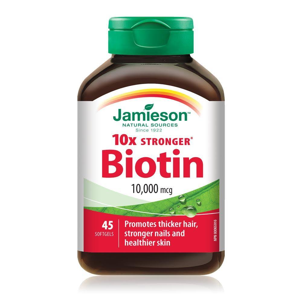 Jamieson Biotine Supplements - 45ct