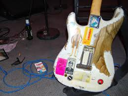 Guitarnerdau Spencer P Jones His White Strat