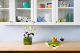 How To Decorate Kitchen Cabinets With Glass Door