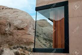 100 Amangiri Utah Tourists Resort On A Mountain USA Stock Photo