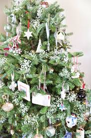 Silver Tip Christmas Tree Los Angeles by Baby U0027s Breath On The Christmas Tree Christmas Tree Babies And