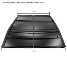 Nissan Frontier Bed Dimensions by 2014 2016 Nissan Frontier King Cab 5ft Short Bed Tri Fold Tonneau