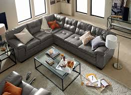 Value City Red Sectional Sofa by Magnum 2 Piece Sectional Gray Value City Furniture And Mattresses