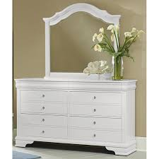 Vaughan Bassett Dresser With Mirror by Vaughan Bassett Dresser Mirrors French Market 384 447 Mirror