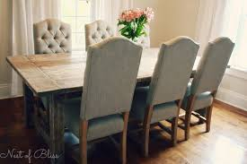 Upholstered Dining Chairs With Nailheads by Dining Room Turquoise Dining Chair And Tufted Dining Chair