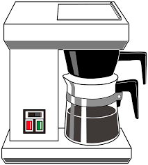 Drip Coffee Maker Icons PNG