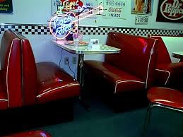 Our Retro Soda Fountain Booth Set Includes Two Diner Benches Custom Table And Base All Of Booths Are Commercial Quality
