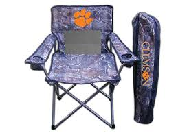 Amazon.com : NCAA Realtree Camo Chair NCAA Team: Clemson : Folding ... Ncaa Chairs Academy Byog Tm Outlander Chair Dabo Swinney Signature Collection Clemson Tigers Sports Black Coleman Quad Folding Orangepurple Fusion Tailgating Fisher Custom Advantage Zero Gravity Lounger Walmartcom Ncaa Logo Logo Chair College Deluxe Licensed Rawlings Deluxe 3piece Tailgate Table Kit Drive Medical Tripod Portable Travel Cane Seat