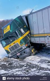 Jackknife Truck Stock Photos & Jackknife Truck Stock Images - Alamy Jackknifed Semitruck Blocks Lanes On Sthbound I15 Semi Closes I75 Houghton Lake Resorter How To Avoid Jackknifing 10 Steps With Pictures Wikihow Factors Which Affect Jackknife Or Rollover Truck Accidents The Jackknife Rigs Semi Accident Into A Ditch During Winter Snow Hgv Antijackknifing Skid Traing 01375 888 427 Trailer Rolls Pickup Inrstate 15 St George News Sonny Subra Twitter Transport Truck Hwy404 Sb Before What Happens If They Peter Davis Law Two Police Officers 2 Others Injured In Crash When Jackknifes