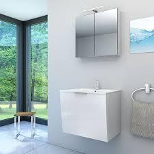 spiegelschrank badspiegel badezimmer spiegel gently 60cm
