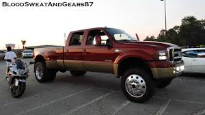 LIFTED King Ranch FORD F-350 SUPER DUTY (Dually) On 22.5