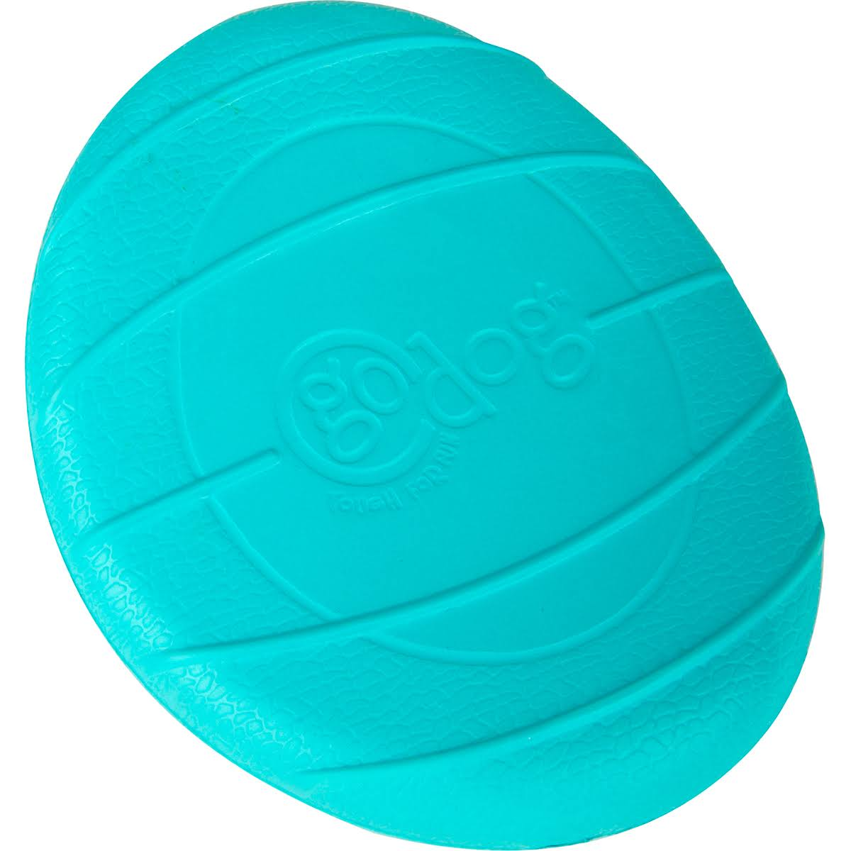 Go Dog Rhino Play Flip Dog Toy - Large, Teal