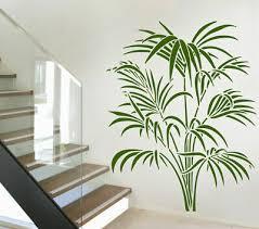 möbel wohnen wandtattoo bambus baum palmen pflanze