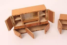 puppenstube puppenmöbel möbel wohnzimmerschränke wohnwand kommode holz antik