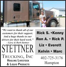 LARRY STETTNER TRUCKING | Print Ads | Yorknewstimes.com Bigfoot Vs Usa1 The Birth Of Monster Truck Madness History Savanah Logistics Seattle Trucking And Northwest Accident Attorney Serving Everett Wa Wal Mart Blue Kenworth Semi Pulls White Stock Photo Download Redmond Lawyers Big Rig Crash Wiener Home Delta Transportation Specialty Averitt Careers Food Truck Fest Is Glorious Gluttony Heraldnetcom Heavy Haul Lawyer In 888 Ups Brown Type Pulling Edit Now Maps