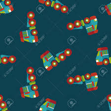 100 Free Tow Truck Games Transportation Flat Iconeps10 Seamless Pattern Background