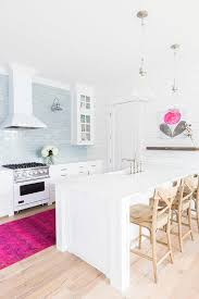Blue And Pink Kitchen Accents