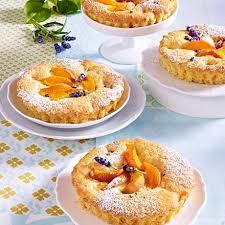 lavendel aprikosen törtchen