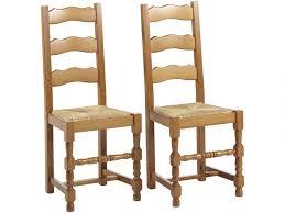 lot de 2 ou 6 chaises seguin hêtre massif teinte chêne