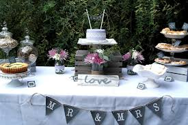 Rustic Bridal Shower Ideas Party