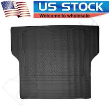 FLOOR MATS FOR SUV Van Truck All Weather Rubber Black Auto Liners ...