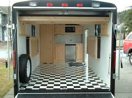 Guy Pimped An Enclosed Utility Trailer To Camp Haul Toys