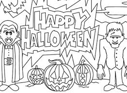 Halloween Coloring Pages 2 New Hd Template Images