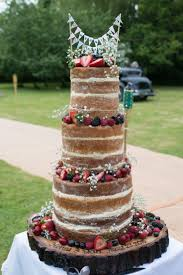 400 Best Naked Rustic Wedding Cakes Images On Pinterest With Diy Cake Ideas Uk