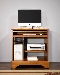 petit meuble de bureau petit bureau informatique en merisier de style louis philippe