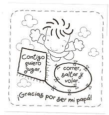 ▷ PDF Dibujos Para Colorear Para El Día Del Padre Preescolar