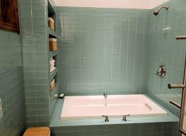 glass tile bathroom ideas for lasting charm home interior