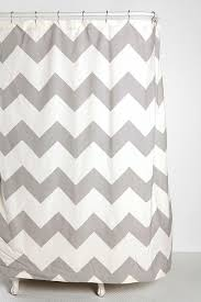 Gray Chevron Curtains Walmart by Gray And White Chevron Shower Curtain Zigzag Shower Curtain West